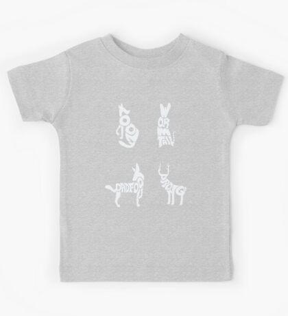 Moony, Wormtail, Padfoot & Prongs Kids Tee