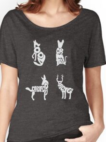 Moony, Wormtail, Padfoot & Prongs Women's Relaxed Fit T-Shirt