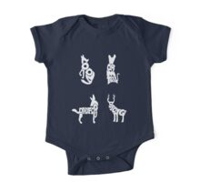 Moony, Wormtail, Padfoot & Prongs One Piece - Short Sleeve