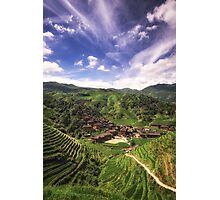 The Dragon Village Photographic Print