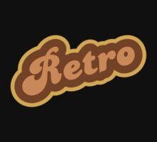 Retro - 70s - Logo Kids Tee