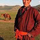 Mongolian Nomad by Keith Molloy