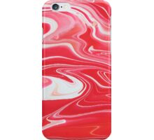 Paint - Red, White iPhone Case/Skin