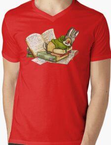 September Jackalope Mens V-Neck T-Shirt