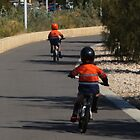 Two little boys had two little bikes by myraj