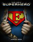 Super Logo E Movie Poster by Adam Campen