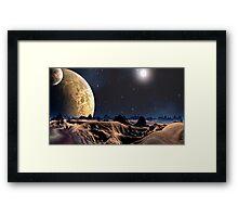 Dune Again Framed Print