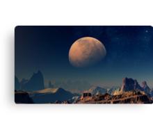 Martian Moons - Phobos Canvas Print
