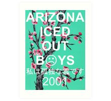 ☹ Arizona Iced Out 2001 ☹ (Non-transparent) Art Print