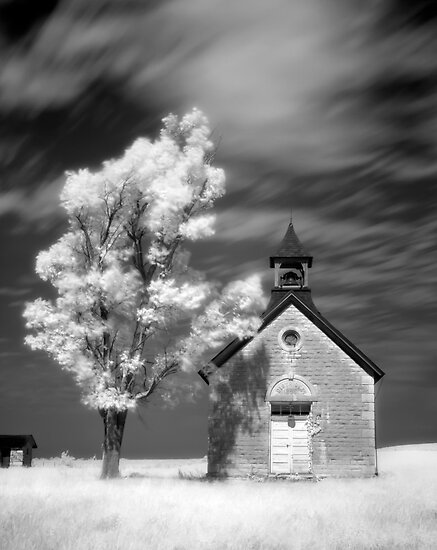 Kansas One-Room School by Jerry E Shelton