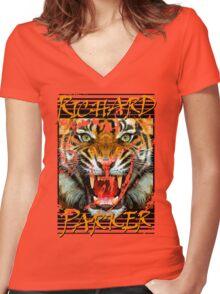 Richard Parker Women's Fitted V-Neck T-Shirt