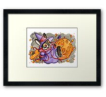 October Jackalope Framed Print