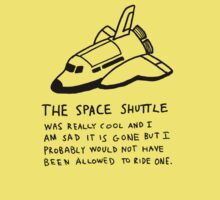 Space Shuttle by Jaybill McCarthy