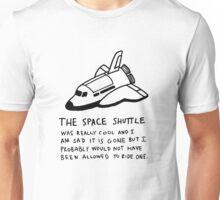Space Shuttle Unisex T-Shirt