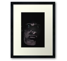 Pixel Faced Framed Print