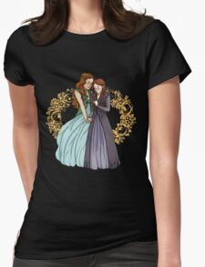 The Wolf and the Rose Womens Fitted T-Shirt