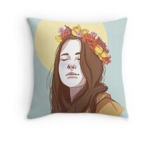 Amy Dyer: The Beautiful Genius Throw Pillow