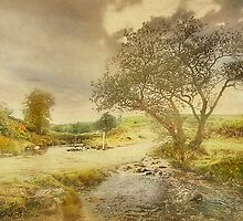 A Ford Across The Moors  by patrixpix
