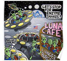 Luna Cafe Poster