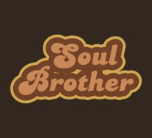 Soul Brother - Retro 70s - Logo by graphix