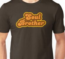 Soul Brother - Retro 70s - Logo Unisex T-Shirt