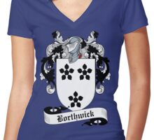 Borthwick  Women's Fitted V-Neck T-Shirt