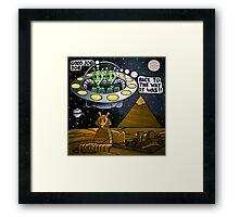 The Sphinx Framed Print