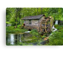Reed Springs Grist Mill Canvas Print