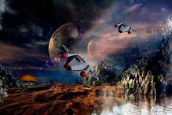 Planetary Encounter by Vanessa Barklay