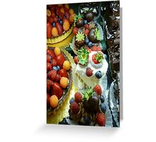 Masterpiece in Deliciousness  Greeting Card