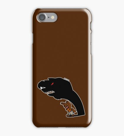 Halloween Monster Delight - Werewolf iPhone Case/Skin