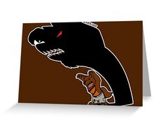 Halloween Monster Delight - Werewolf Greeting Card