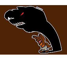 Halloween Monster Delight - Werewolf Photographic Print