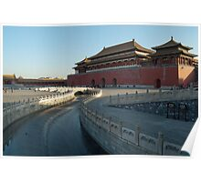 Forbidden City, Beijing, China Poster