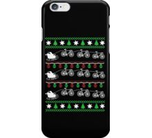 Cycling Christmas iPhone Case/Skin
