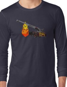Quint Fire Engine - Fire Fighter Long Sleeve T-Shirt