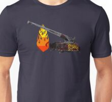 Quint Fire Engine - Fire Fighter Unisex T-Shirt