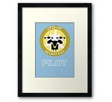 Gold Squadron - Star Wars Veteran Series Framed Print