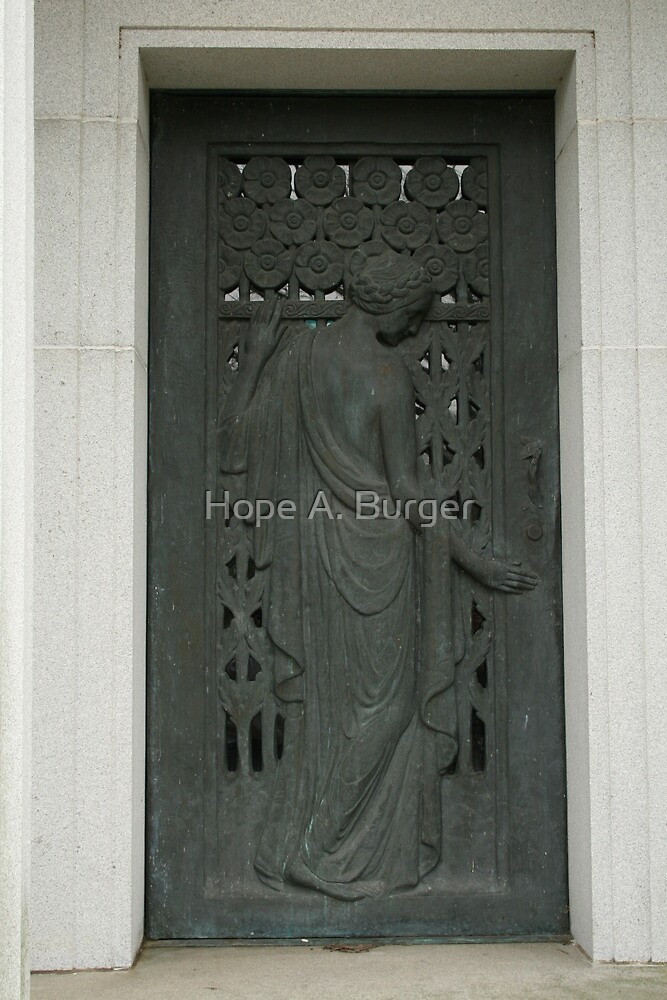 waiting at the door by Hope A. Burger