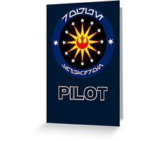 Star Wars Unit Insignia - Rogue Squadron Greeting Card