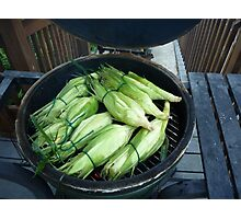 Roasted Sweet Corn Photographic Print