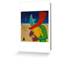 Relic Embrace Beside a Turkey Baster Tree Greeting Card