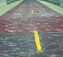Route 66 - Brick Highway by Frank Romeo