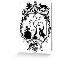 Waters of Versailles Greeting Card