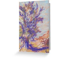 Oak (pastel) Greeting Card