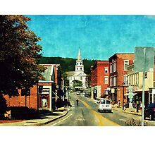Middlebury, Vermont Photographic Print