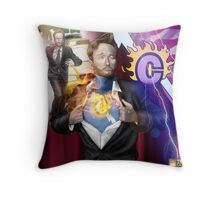 Behold the Flaming C  Throw Pillow