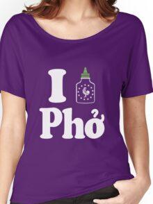 I Sriracha [love] Pho Women's Relaxed Fit T-Shirt