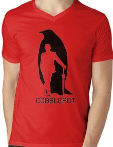Cobblepot Mens V-Neck T-Shirt