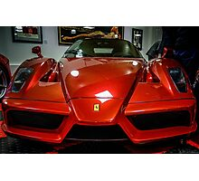 Some Amazingly Desirable Ferrari at Prindiville in Limehouse Basin  Photographic Print